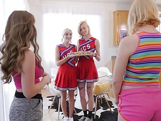 Hairy cheerleader xxx Lesbian cheerleaders make special cookies