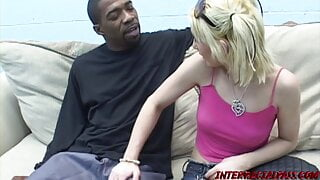 Chloe the Little White Slut causes Brother Boz to Bust a Nut