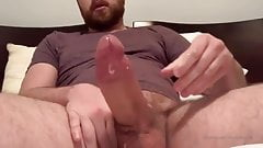 Huge white cock explosion
