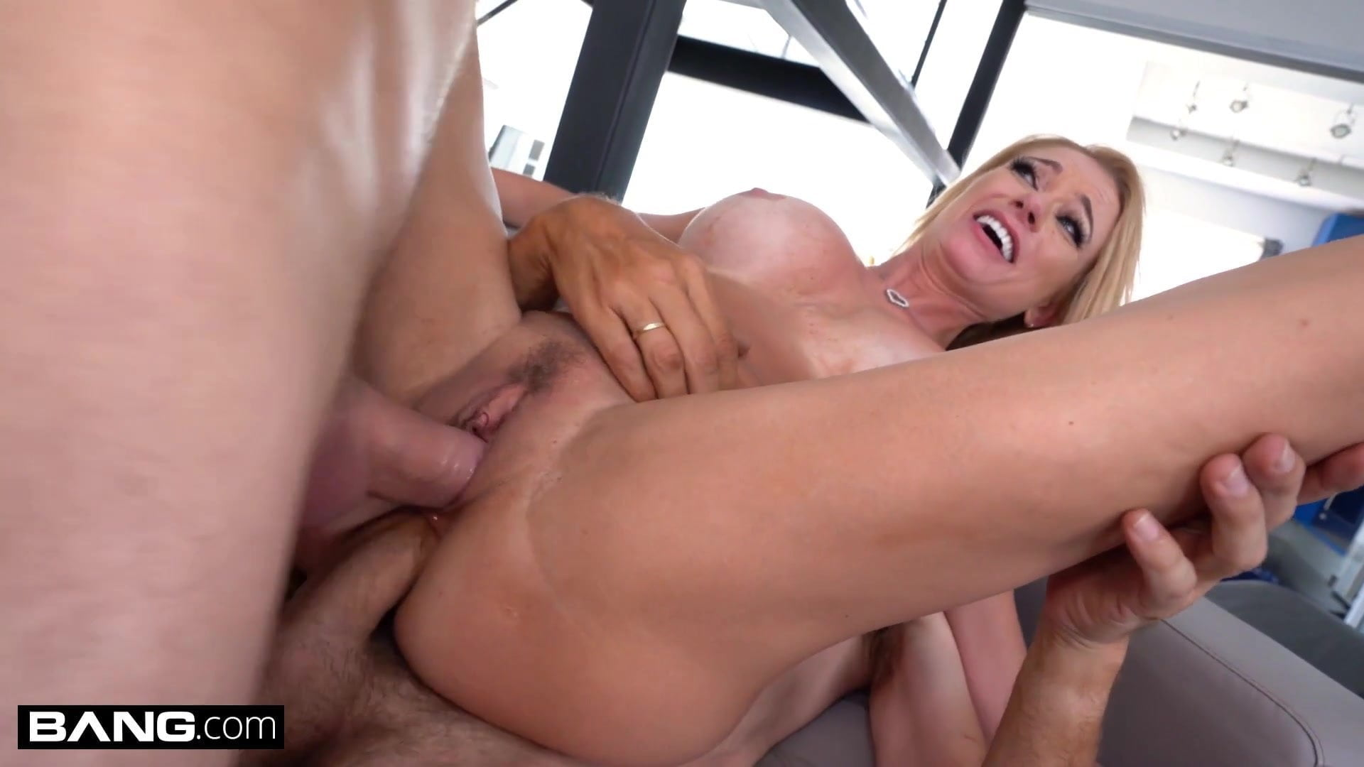 Double Teamed Teen Anal