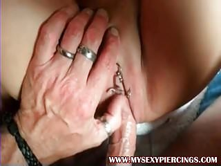 Penis ring married couples - My sexy piercings tattooed and pierced couple lots of rings