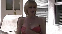 MILF (POV) #100 Super-duper Blonde Mom in the Backyard