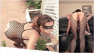 Sexy Thief Comes into my house! (No censorship)