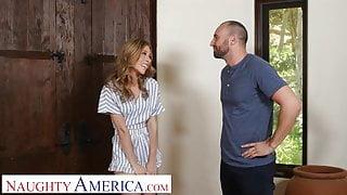 Naughty America Anya Olsen seduces her friend's stepdad