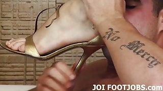 I think your footjob fantasy is super hot
