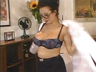 Big tits in office Big tits secretary stockings fucked in office