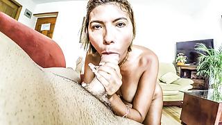 blonde latina throat fuck big cock casting