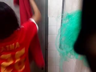 Fox nude tim Hidden cam on her shower : tim01
