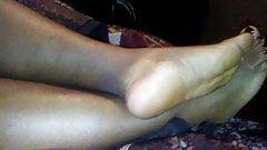 Ebony Bbw Legs and Feet