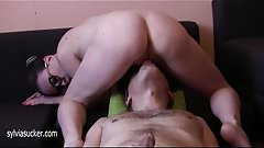 Perfect Ass Milf Pussy Eating Orgasm