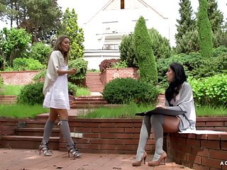 Erotic hypnosis sex video A girl knows - erotic sex with two hot czech lesbians