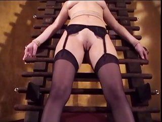 Asian bound gag sex Big tits chick audrey bound and gagged for a bdsm session