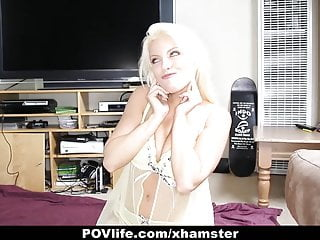 Busty amber uk - Povlife - busty blonde britney amber likes to fuck