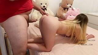SEX AND CUM IN TIGHT PUSSY