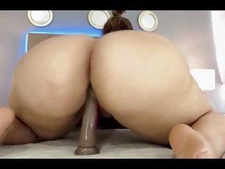Bubble butt sex whipped Bubble butt dildo compilation