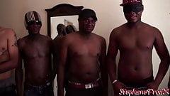 Ineesa BBW Slut gang bang interracial at Stephaneprodx