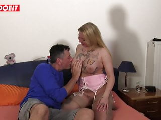 German threesome sex - Letsdoeit - swinger threesome sex with german mature babes