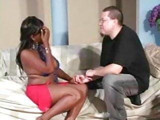 Humongous boobs getting slammed Big black titted woman getting slammed fmc85