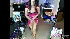 sexy shemale Briana cumshot