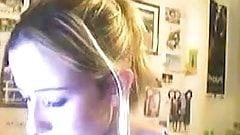 Geile Blonde Studentin