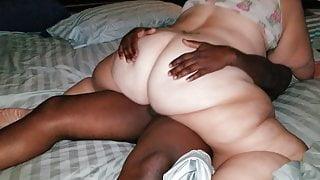 Juicy wife bouncing on boyfriends cock pt3