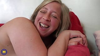 mom want's hardly step son's cock