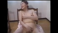 Japanese slut mom gangbang by sons cock.