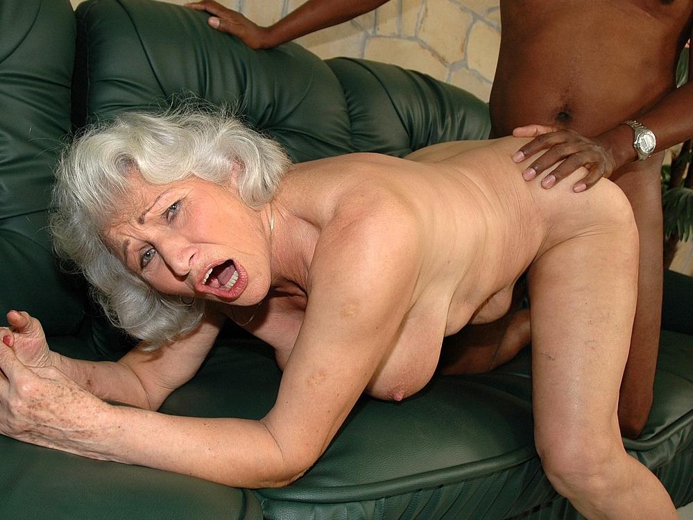 Granny Interracial Porno