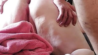 MILF AND BIG DICK ANAL SCENE IN BEDROOM WITH ANAL CREAMPIE