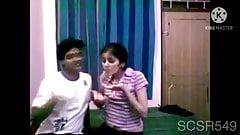 Desi College lovers kissing n getting romantic