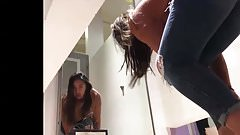 Caught Spying In Dressing Room