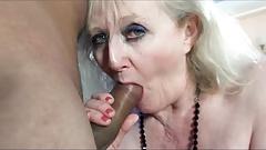 Порно бабушка Claire Knight обожает большой черный член