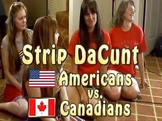 Canadian comic strips - Strip dacunt americans vs canadians