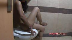 Hot Indian Wife Reenu Naked In Bathroom Before Shower