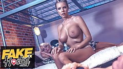 Fake Hostel War time widows passionate fuck with soldier