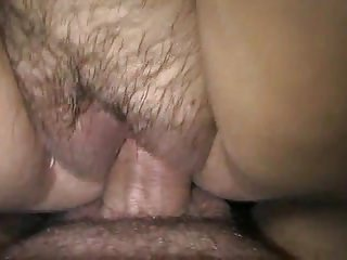 Girl fucks huge cock creampie - Rose wet dripping pussy fucked- huge clit view