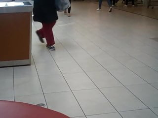 Strip polish off Candid girl taking off shoes and showing her barefeet