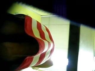 Nude gay film - Hidden cam nude milf, realizes he is being filmed