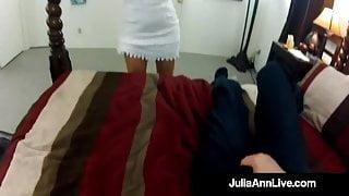 Perverted Penis Films Himself Fucking Milf Julia Ann Doggy!
