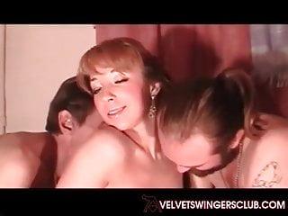 Velvet swinger Velvet swingers club wife fucked by her husbands friends