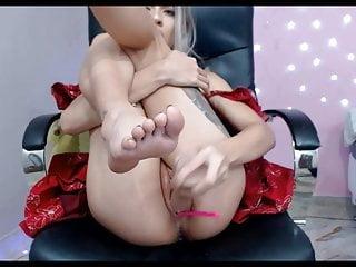 Orgasm squirt sounds - Blonde orgasm squirt webcam