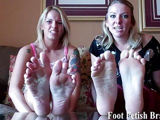 She is obsessed with my cock - She is totally obsessed with my sexy feet