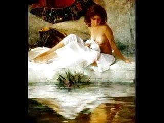 Is drawing nude erotic painting Erotic paintings of sergey marshennikov 1