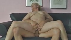German Family, naughty mother