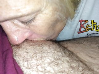 Increased pre cum during foreplay - Naughtia eve nurses tit and enjoys tasting pre-cum too