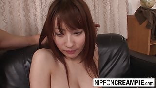 Asian couple have some hardcore fun on the bed