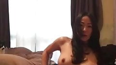 Really Beautiful Japanese girlfriend's sweet play-1