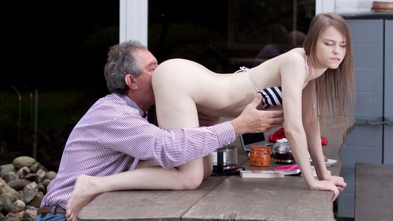 Grandpa Fucks Teen Big Tits