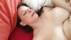 Big tit hotwife loves this BBC creampie