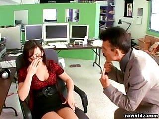 Taryn fucks her boss - Jennifer white hot secretary fucks her boss